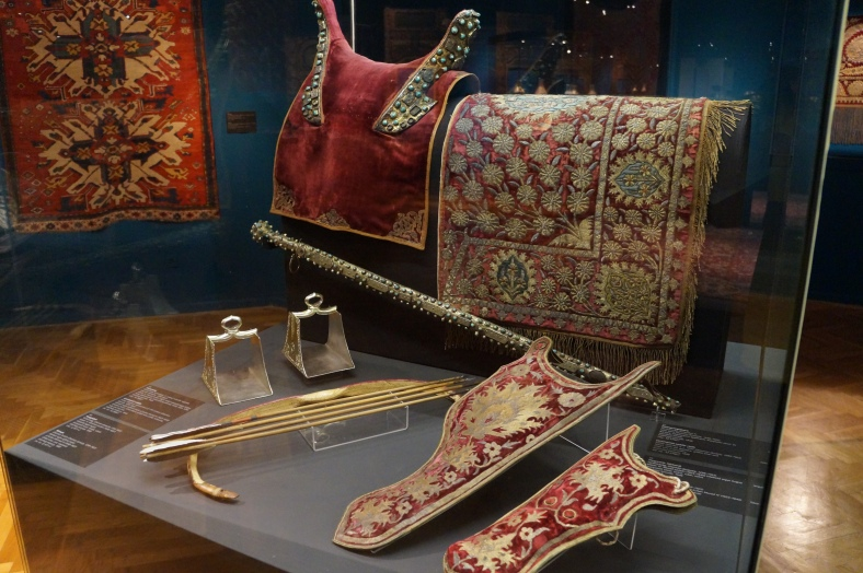 Ottoman display.