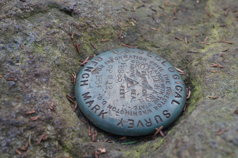 I am not sure if this means highest point in the county or the state, but here ya go!
