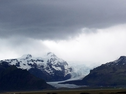 The great Vatnajökull Glacier melting away.