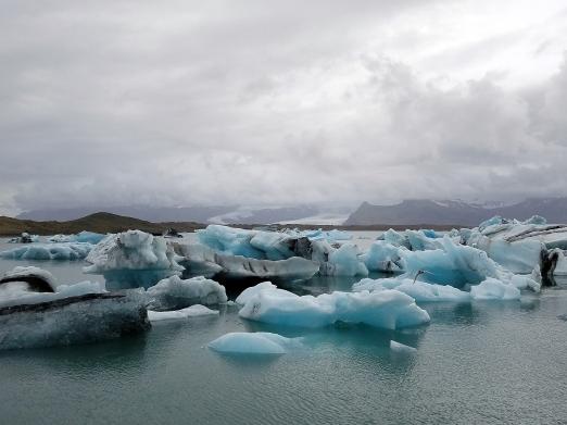 Jökulsárlón, the glacier lagoon.