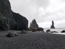Vik beach, and the stone trolls